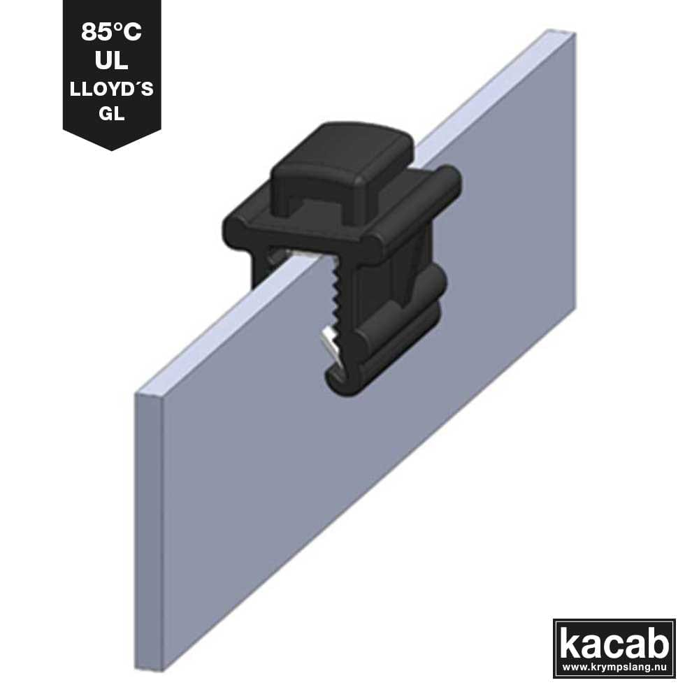 Endge clips Cable ties