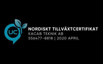 Nordiskt Tillväxtcertifikat UC